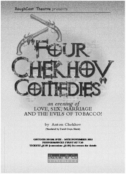 Artwork for 4 Chekhov Comedies
