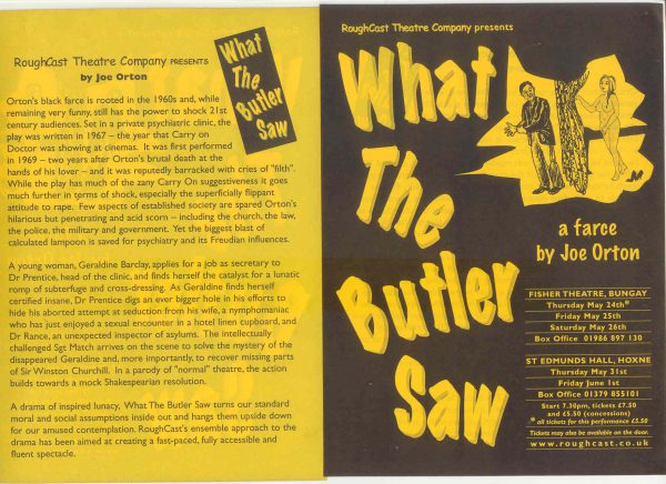 Artwork for What The Butler Saw